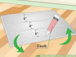 3 ways to stop a rug from moving on a wooden floor wikihow