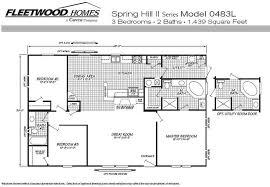 3 Bedroom 2 Bath Mobile Home Floor Plans Mobile Home Blueprints 3 Bedrooms Single Wide 71 E910ct U2014 1 073