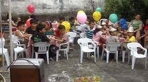 filipino style birthday party youtube