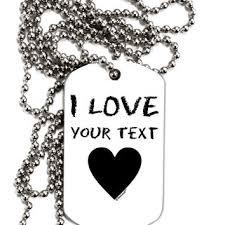 customized dog tag necklaces shop personalized dog tag necklaces on wanelo