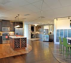 the quadrant homes design studio is filled with thousands of