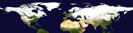 World Map Winter by Svs Snow Cover Over The Northern Hemisphere During The Winter Of