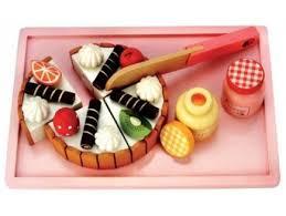 jeux de cuisine de gateaux d anniversaire jouet gâteau à découper gâteau en bois dînette achat gâteau d