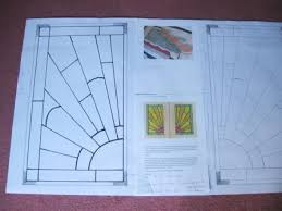 new art deco leaded stained glass panels design u0026 making
