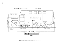 figure 2 32 side elevation of truck van expansible wown m820a2