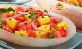 cuisine salade salade de mangue créole source kreyol cuisine le salé