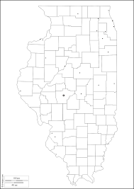 Illinois Map With Counties by Illinois Free Map Free Blank Map Free Outline Map Free Base