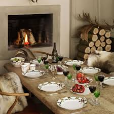 danes know how to set the table for christmas christmas at