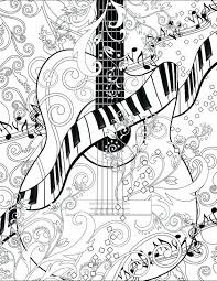 coloring pages disney frozen page printable guitar free by
