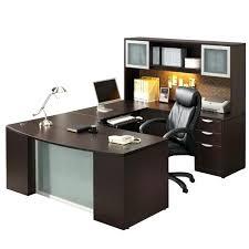 Kidney Shaped Executive Desk U Shaped Computer Desks Office Study Desk Table With 3 Drawer