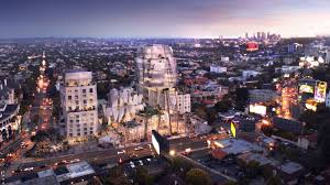 Frank Gehry by Frank Gehry U0027s Towering Sunset Strip Project Faces A Fight From Two
