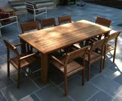 Reclaimed Teak Table  Seater Atlanta Teak Furniture - Reclaimed teak dining table and chairs