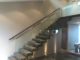 Glass Banister Staircase Glass Stair Railings Types U2014 Railing Stairs And Kitchen Design