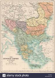 Ottoman Europe by Ottoman Empire 1356 1897 Greece Bulgaria Servia Rumania Bosnia