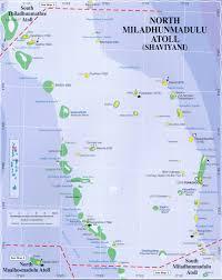 Map Of Maldives Maps Of Maldives Map 4 Shaviyani Atoll