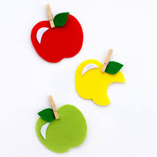 sweet and simple felt apple craft