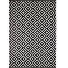 Black And White Modern Rug by Handwoven Modern Rug Diy