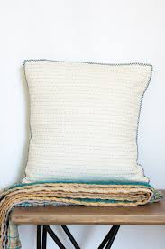 decorative kantha throw pillow covers dignify