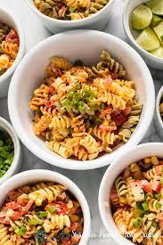 recipes for pasta salad sriracha ranch pasta salad the little kitchen
