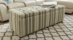 bench ottoman storage solutions plush furniture