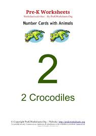 pre k 1 9 numbers with animals templates pre k worksheets org