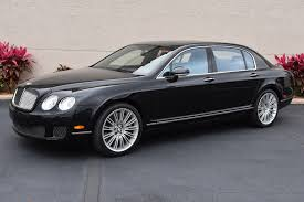 2009 bentley flying spur used 2009 bentley continental flying spur w12 twin turbo venice