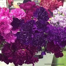 Purple Carnations The French Bouquet Blog Inspiring Wedding U0026 Event Florals