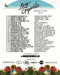 big gigantic expands spring tour