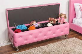 pink storage ottoman bench storage designs