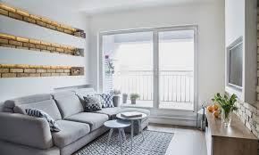 kleine wohnzimmer kleine räume farblich gestalten wandfarbe und möbel