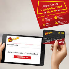 free debit card visa debit card jazzcash