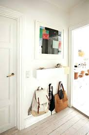 Small Entryway Design Easy Entryway Mirror With Hooks Hallway Decorating Ideas