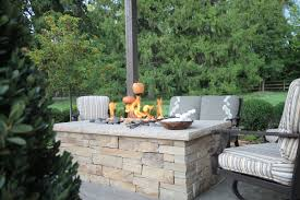 Pictures Of Fire Pits In A Backyard by Fire Pits In St Louis Poynter Landscape