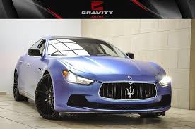maserati ghibli body kit 2014 maserati ghibli s q4 stock 091756 for sale near sandy