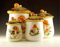 vintage kitchen canisters kitchen canister sets vintage photogiraffe me