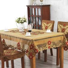 aliexpress com buy yazi european yarn rectangle tablecloth