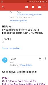 skilled trades exams