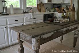 our vintage home love farmhouse table