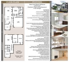 Digital Floor Plan by Floor Plans U0026 Features U2014 Bridlewood Court