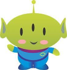 alien clipart toy story character pencil color alien