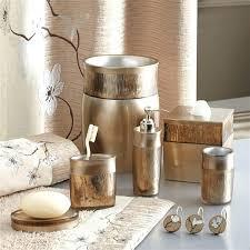 home improvement bath accessory sets silver magnolia collection