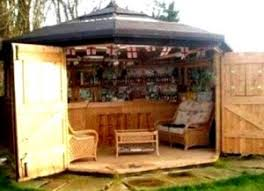 Backyard Bar Ideas Backyard Bar Shed Ideas Build A Bar Right In Your Backyard