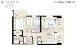 Mall Of The Emirates Floor Plan Floor Plans Park Heights Dubai Hills Estate By Emaar
