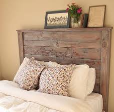 diy headboard how to make a rustic pallet headboard diy projects craft ideas how