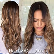 shadow root balayage with haircut and style done by hairstylist