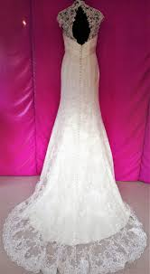 fishtail wedding dress size 16 ivory lace fishtail wedding dress worn with bridal