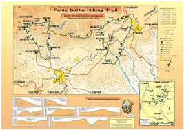 Drakensberg Mountains Map Fanie Botha Hiking Trail Map Normal Life In The Life Of Lunny