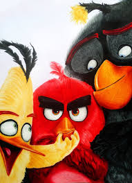 angry birds drawing upcoming movie aggelikhxiarxh