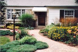 exterior stunning ranch house curb appeal design ides with stone