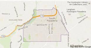 pasadena ca map south pasadena wigglewag walking